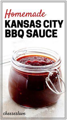 Homemade Kansas City BBQ Sauce