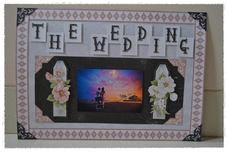 the wedding scrapbook