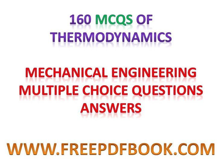 221 best mechanical free pdf books images on pinterest thermodynamics mechanical engineering multiple choice questions answers thermodynamics objective questions thermodynamics objective questions pdf fandeluxe Images