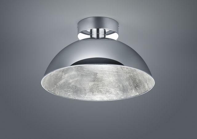 ROMINO Trio - LED stropnica - ø 400mm -  chrómový kov