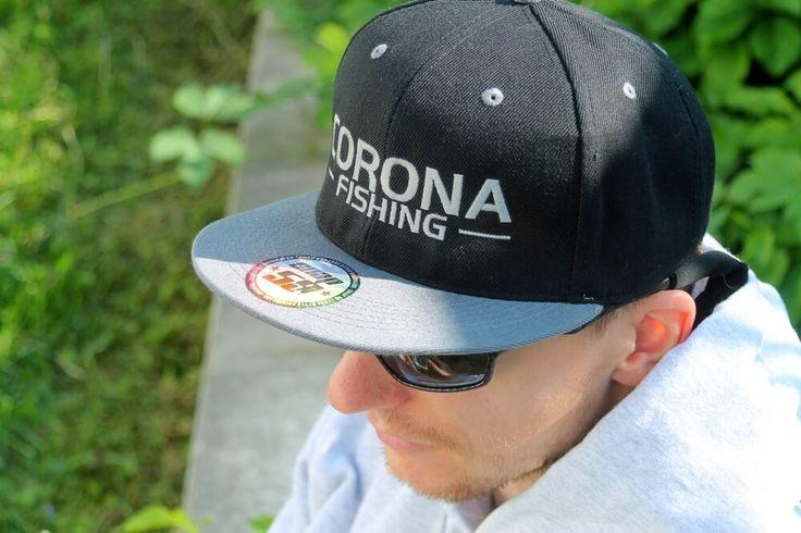 Czapka wędkarska Corona Fishing - dostępne modele na lato i zimę! #wędkarstwo #akcesoria #prezent