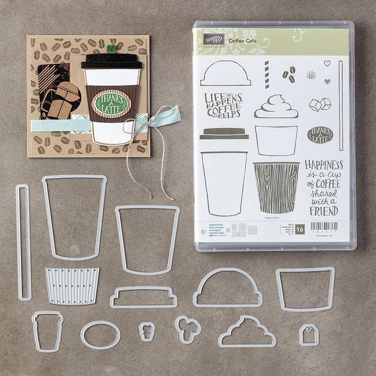 Coffee Cafe Bundle, Stampin' Up!