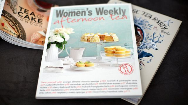 The Australian Women's Weekly Afternoon Tea by kathyylchan, via Flickr