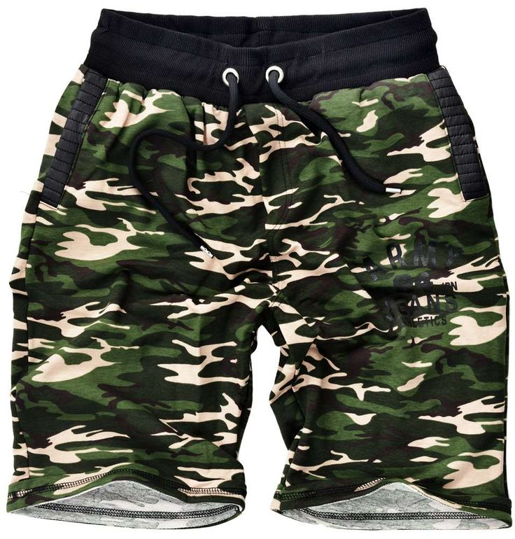 Pantalón corto hombre color de camuflaje