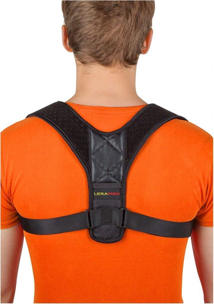 For improving posture Black back braces support,Corrects Shoulder Slumping and Poor Posture for Women and Men.
