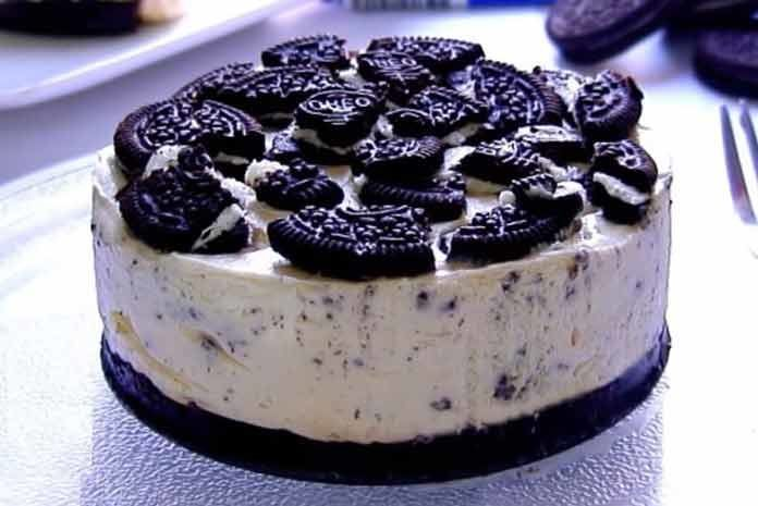 Холодный чизкейк с брауни и Орео Без больших затрат #cheesecake #Oreo #chocolate#eat#dessert#dessert#cake