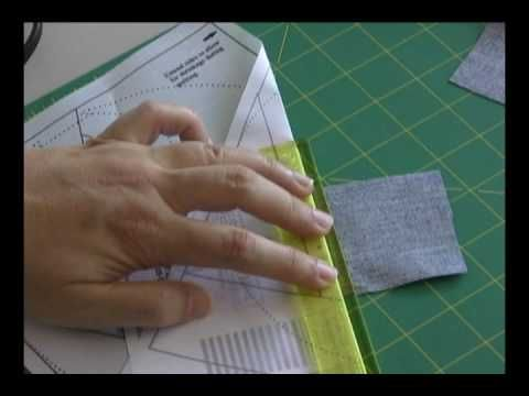 Karen Johnson, of Connecting Threads, teaches you the most common version of Foundation Piecing - usually known as Paper Piecing.  Achieve perfect points on tiny blocks with just a few easy tips.