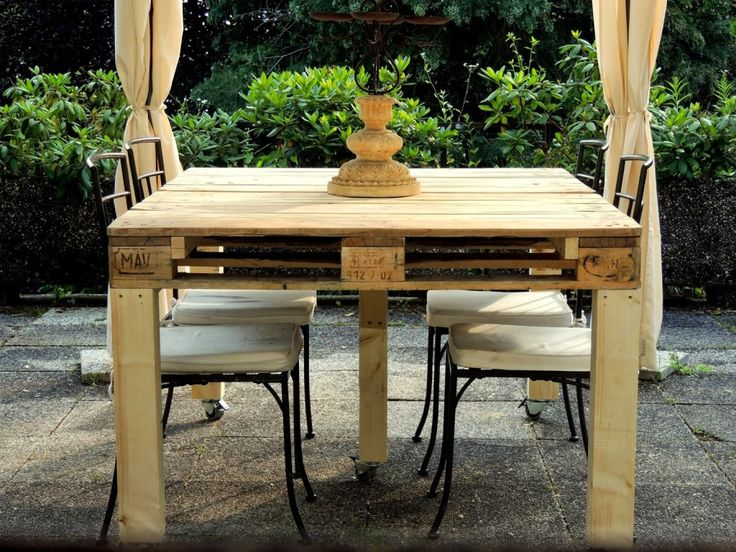 Oltre 25 fantastiche idee su tavoli con pallet su - Tavolo legno riciclato ...