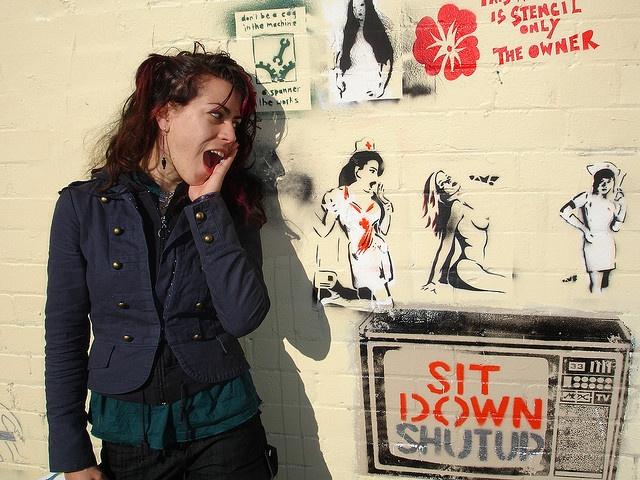 Horror Nurses and Glita Grrl by Glenda GlitaGrrl, via Flickr