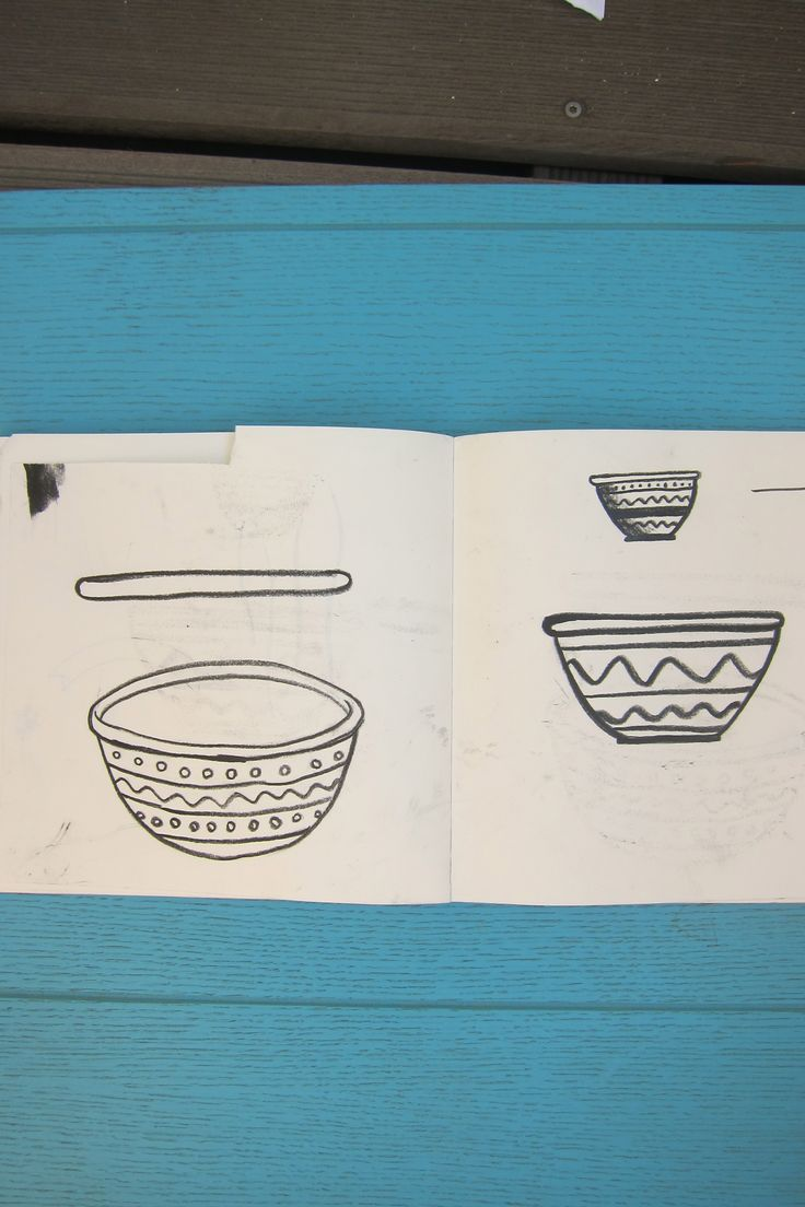 #Wonderpots #Bowls #Schüssel #Wonderpotssketchbook www.wonderpots.de