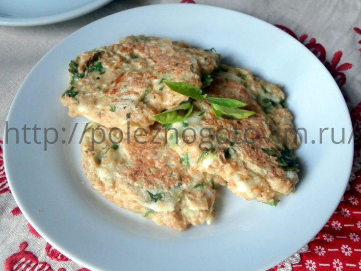 Кабачково – овсяные оладьи – вкусный и полезный завтрак!