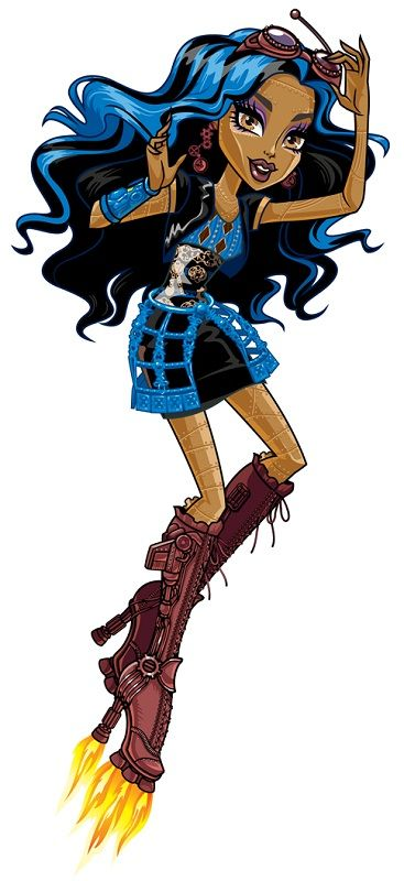 Anything Steampunk gets my gears grinding. :3 Robecca Steam-Monster High