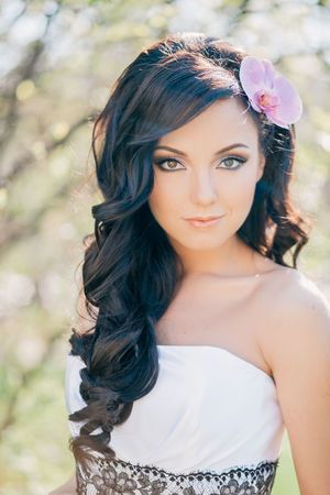 bridal look - wedding hairstyle and make up By ELSTILE