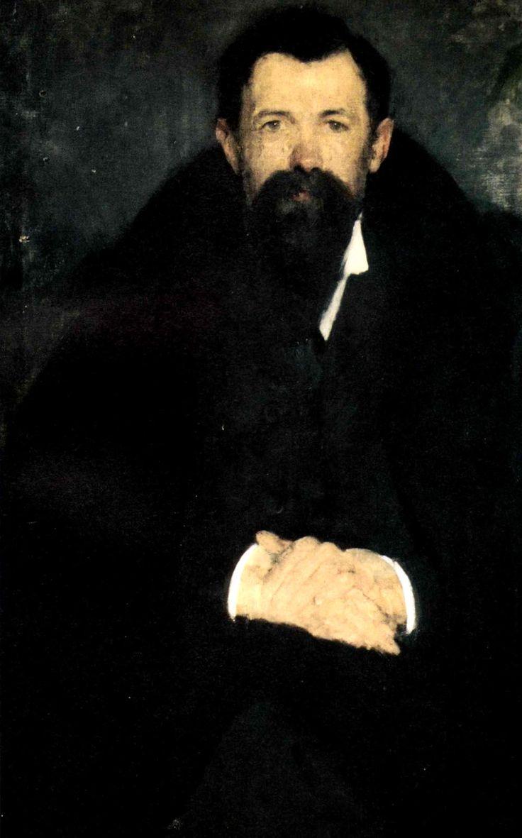 """Olga Boznańska, """"Portret profesora Jana Danysza"""", 1901, olej na płótnie, 92 x 60 cm, własność prywatna"""