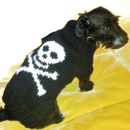 Halloween Dog costume dog sweater  French bulldog size by CUTIEDOG