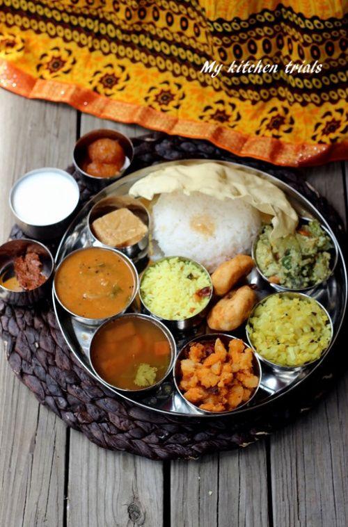Tamil Nadu Full Meals
