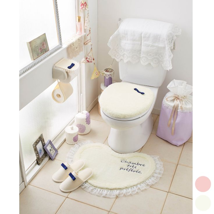 ハートリボントイレマットG-玄関・バス・トイレ│通販 スクロールショップ|スクロールのオンラインショップ
