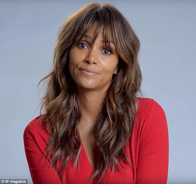 Sorry, not sorry: Halle Berry performed a dramatic reading of Britney Spears' Oops... I Did it Again in which she seems untroubled that she 'got lost in the game'