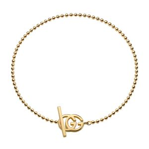 Gucci Running G 18ct Gold Bracelet