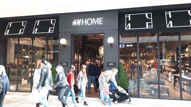 h m home stands alone in westfield london launches h m home rh pinterest com