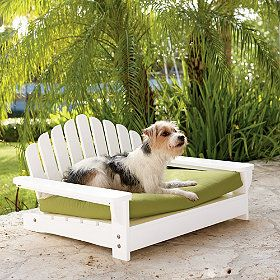 Pamper your pooch in ultimate style with our comfortable Adirondack pet bed.