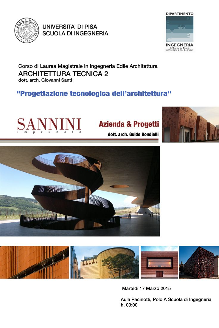 """SANNINI PER LE UNIVERSITÀ Sannini ha sempre affiancato alla sua tradizionale attività produttiva un costante impegno teso a creare una nuova coscienza culturale sul """"Cotto""""... http://www.sannini.it/news-single-021.html SANNINI FOR THE UNIVERSITY Sannini has always accompanied a constant commitment to its productive traditional activity, finalized to build up a new cultural conscience about the """"Cotto"""" ... http://www.sannini.it/news-single-021.html #university web developer: www.studiojb.it"""