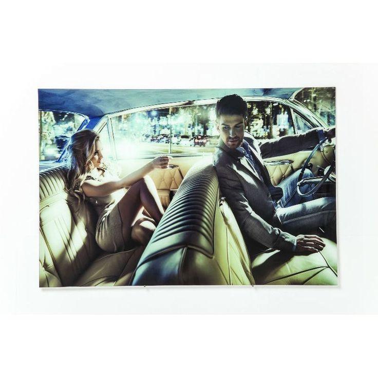 Πίνακας Glass Gentlemen Driver 80x120 Μία αισθησιακή εικόνα μέσα από το αιώνιο παιχνίδι ανάμεσα στον άντρα και την γυναίκα, μία εικόνα που μας γεμίζει ερωτηματικά, ποιος πραγματικά είναι ο οδηγός σ'αυτήν την κούρσα. Υλικό : Ψηφιακή εκτύπωση σε γυαλί