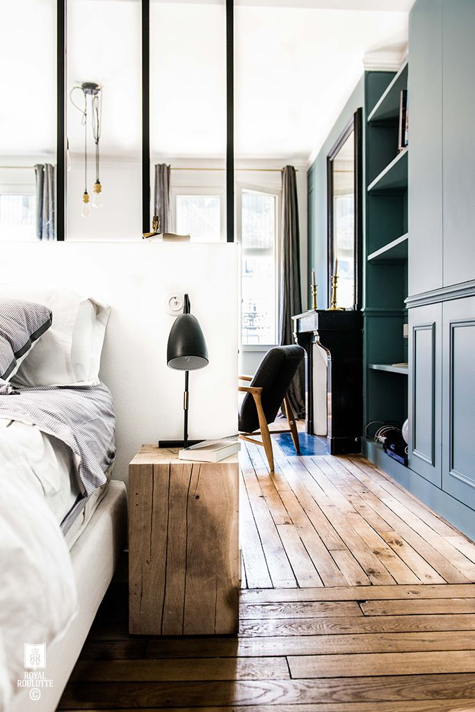 ROYAL ROULOTTE PARIS -★- APPARTEMENT RENOVATION / BLUE WALL