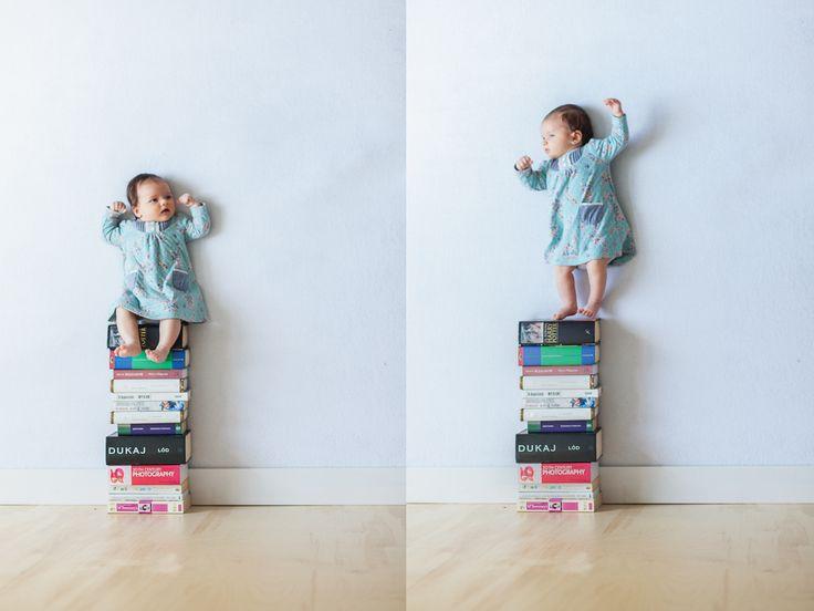 Le divertenti foto di un papà con la figlia appena nata (senza Photoshop) #funnyphoto #nophotoshop