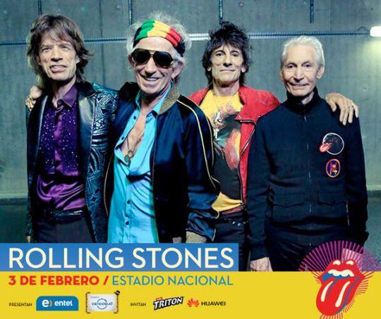 [www.elbeso.cl] @RollingStones en #Chile. 3 feb 2016 Estadio Nacional /  @dgmedios