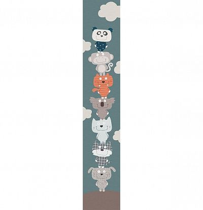 Фото №1: Панно для детской с животными ACE 67189944 Patchwork – Ампир Декор