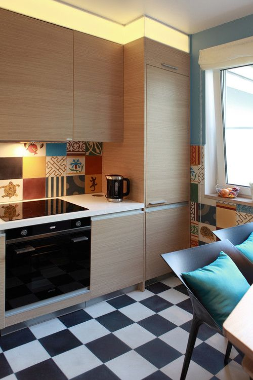 Интерьер мини кухни в стиле пэчворк с фото - стиль пэчворк в интерьере кухни на dommarket