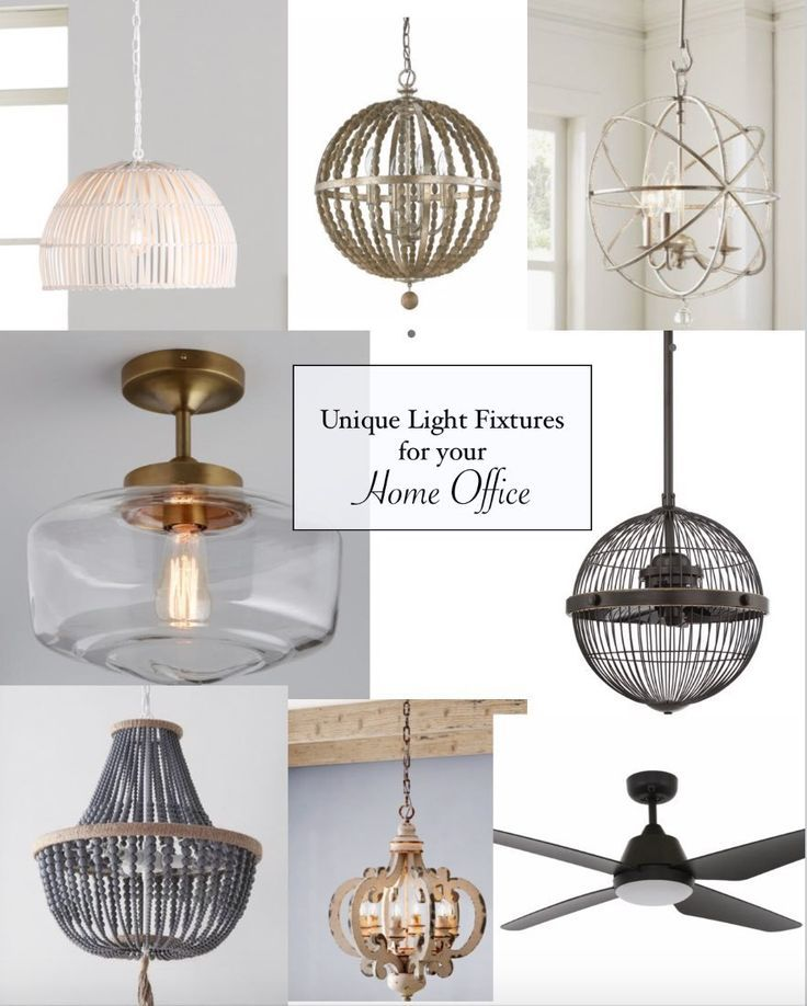 home office ceiling light fixtures