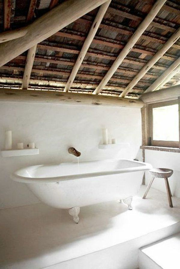 fabulous une salle de bain sous pente ou sous combles en photos with banc pliant ikea. Black Bedroom Furniture Sets. Home Design Ideas