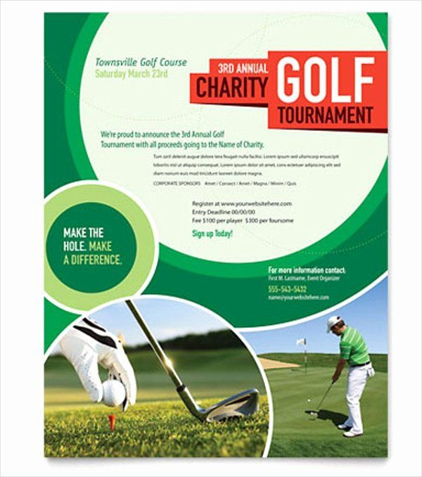 Golf Tournament Flyer Template Awesome 25 Golf Flyers Templates Word Psd Ai Eps Vector Flyer Template Golf Tournament Flyer