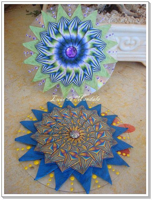 Mandala Tea Bag Folding by ۞ Luar da Mandala ۞, via Flickr