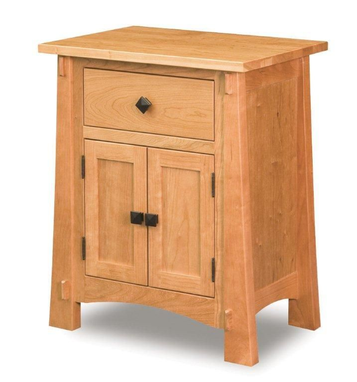 Amish Modesto Mission Nightstand