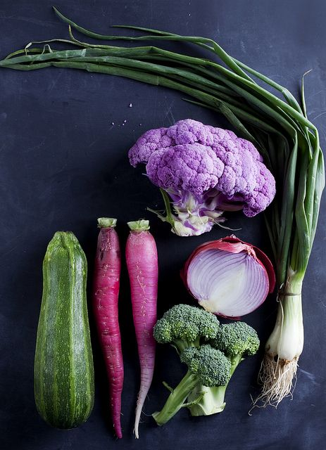 Eat your greens (and purples, too).