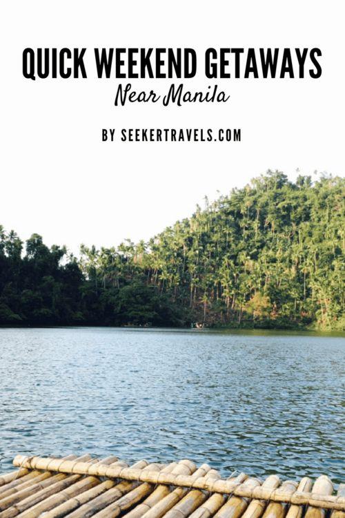 Quick Weekend Getaways Near Manila | SEEKER  #rizal #laguna #pampanga #baler #launion #baguio #bataan #roadtrip #destination #philippines #sightseeing #vacation #escape