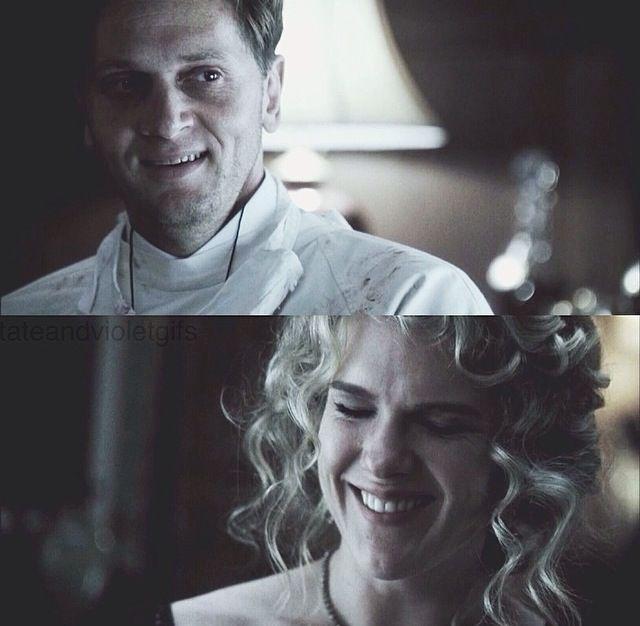 Nora and Charles Montgomery {Murderhouse} ahs
