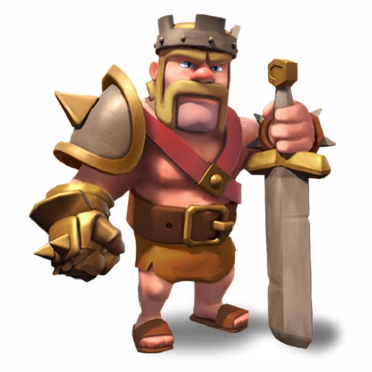 clash of clans level 1 Barbarian King !!!!!!!!!!!!!