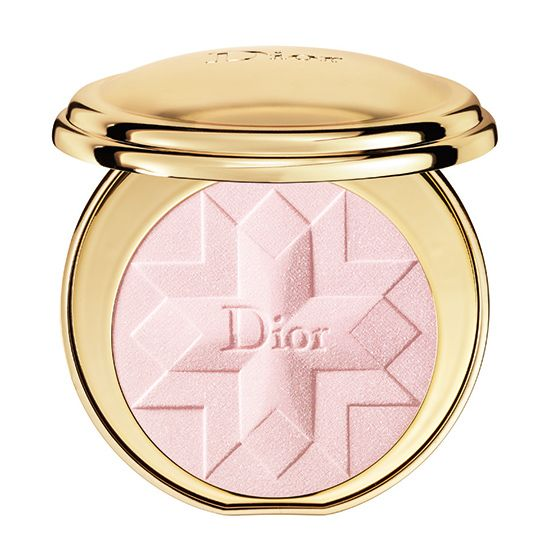 Dior Golden Shock Collection for Holiday 2014 // Diorific Illuminating Press Powder ($80.00) (Limited Edition) // Pink Shock (002)