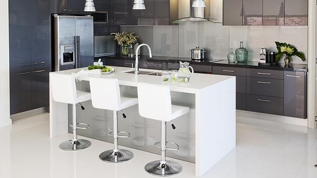 Grey is the new white for Gold Coast kitchens
