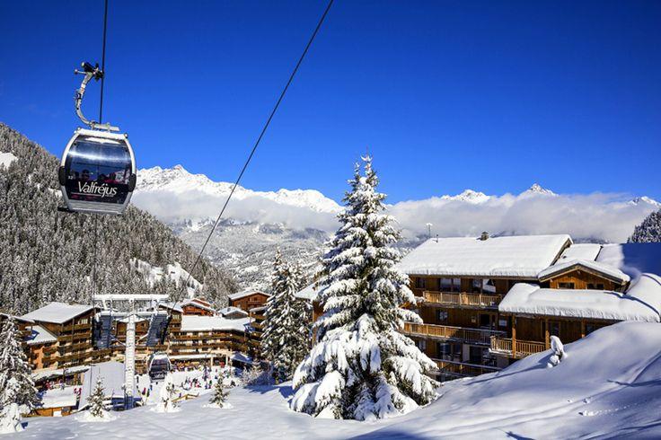 La station - Télécabine d'Arrondaz   Valfréjus, station de ski Savoie, Maurienne - Vacances ski : domaine skiable, forfait, webcam, météo ©P.Jacques
