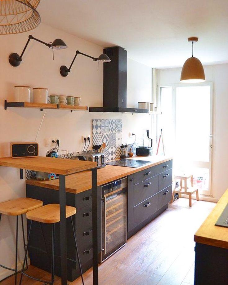 ️Scandinave home 💫 #picoftheday #instalike #kitchen #kitchendesign #kitchendecor #kitchenview #homedecor #industrialdesign #chicdesign