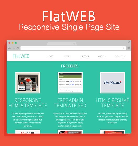 33 best Free One Page HTML Templates images on Pinterest Website - free resume html template