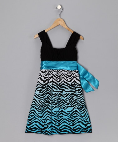 Take a look at this Turquoise Zebra Dress - Girls by Blow-Out on #zulily today!#fallTurquois Zebras, Fall Clothing, Turquoise Zebras, Little Girls, Girls Generation, Zebras Dresses, Rare Editing, Baby Girls, Dresses Girls
