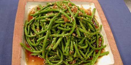 Asian Long Bean Salad.. mmm favourite beans