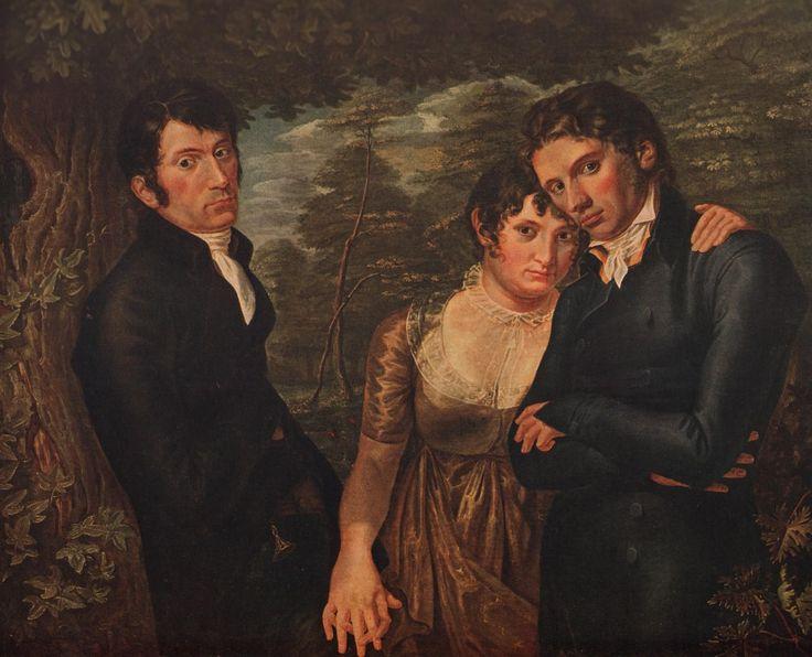 МЕНАЖ А ТРУА. Ф.Рунге. Мы втроем. 1805