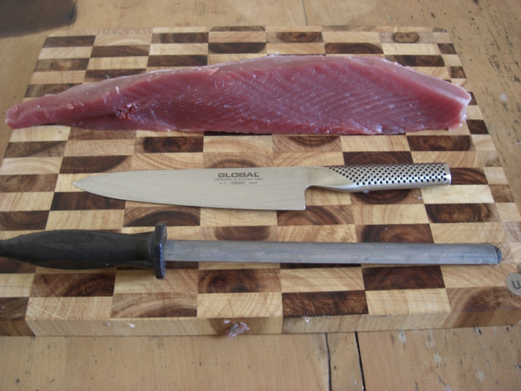 Southern Bluefin Tuna fillet from my April 2011 fishing trip